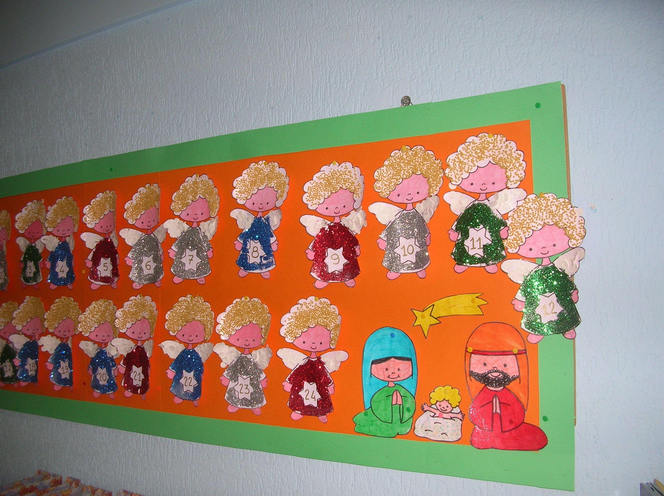Bambini Simpatici ~ Un simpatico calendario dellavvento realizzato dai bambini