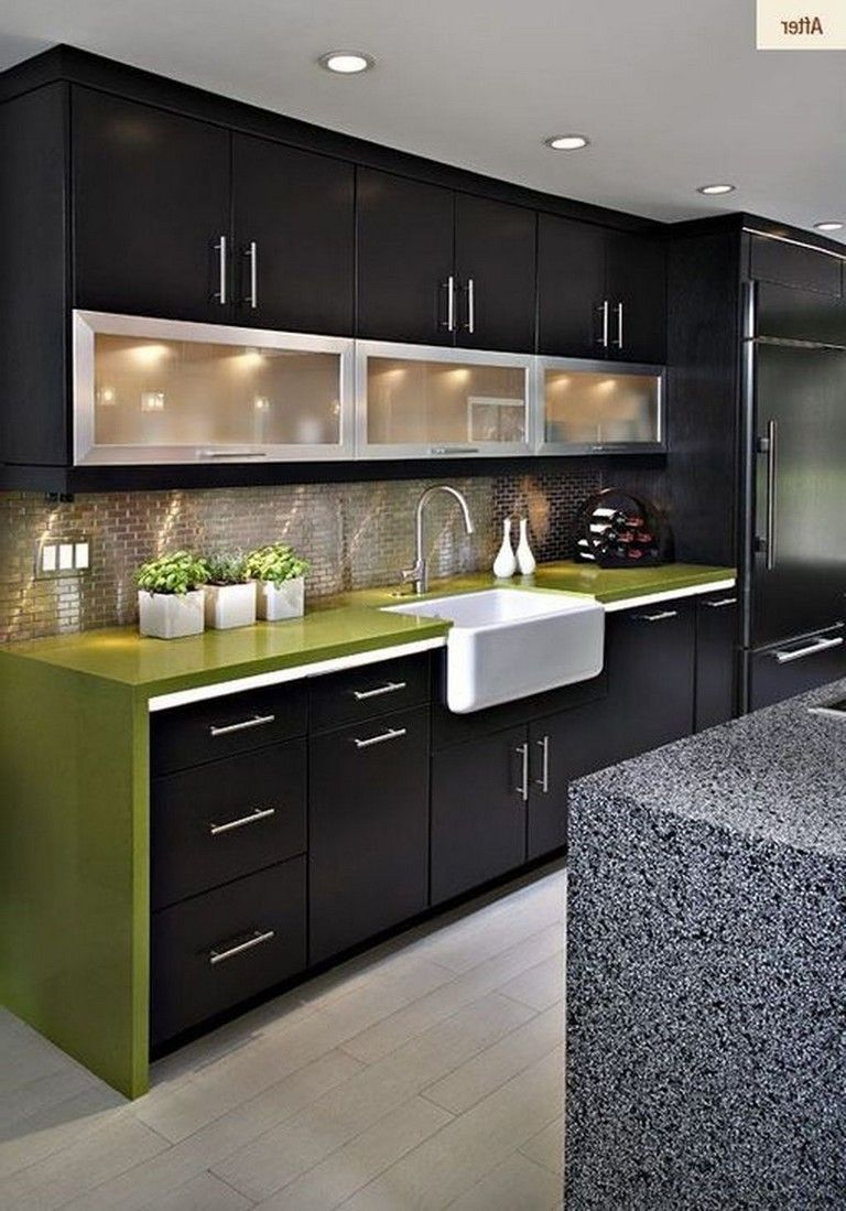 Contemporary Kitchen Design Benefits And Types Of Contemporary Kitchen Interior Design Kitchen Modern Kitchen Cabinet Design Kitchen Interior Design Modern