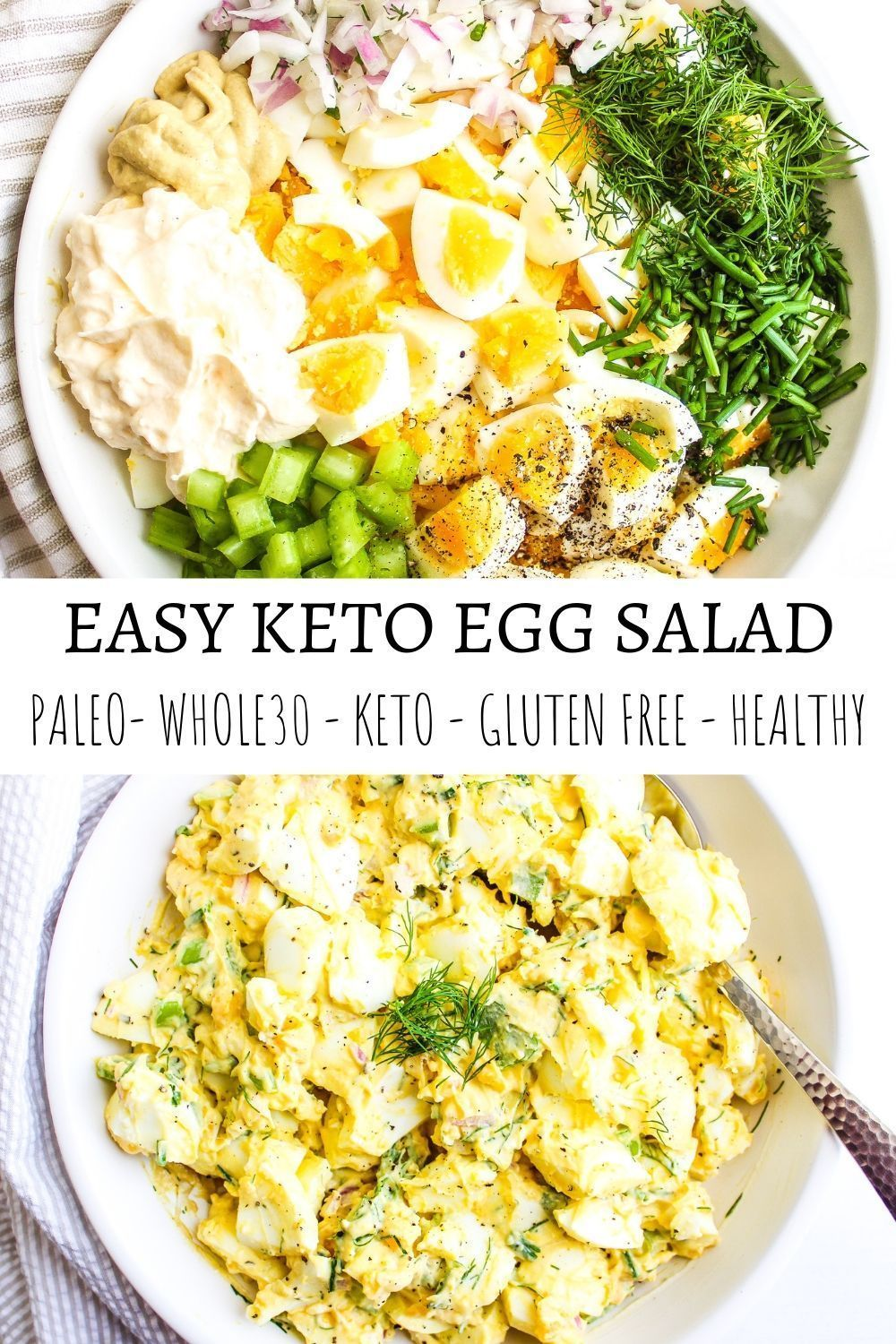 Easy Keto Egg Salad -