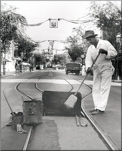 Cleaning Main Street | Tom Simpson | Flickr