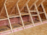 Great Attic Idea Attic Organization Attic Flooring Attic Storage