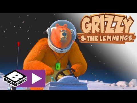 Grizzy i lemingi Księżycowy niedźwiedź Boomerang YouTube