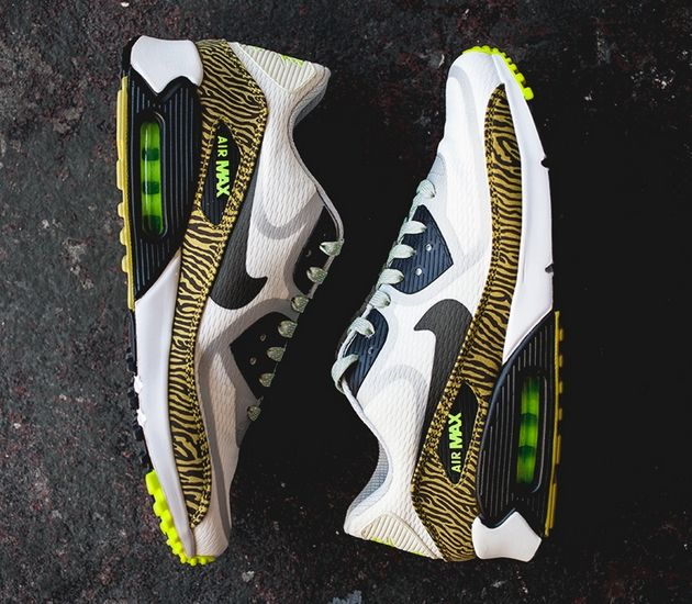 Nike Air Max 90 Tape – Yellow / Zebra