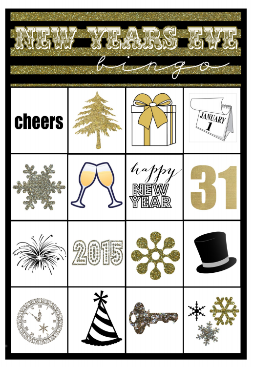 new years eve printable bingo card perfect for a family friendly new years eve capturig joycom