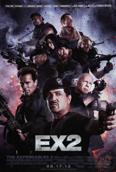 The Expendables Ii The Best Of The Best Making A Comeback The Expendables Thriller Claude Van Damme