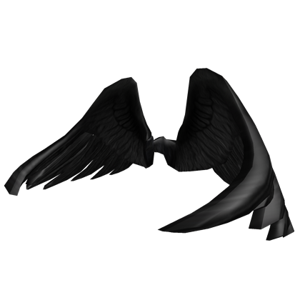 Customize Your Avatar With The Black Wings And Millions Of Other Items Mix Amp Match This Back Accessory With Other I Black Wings Hoodie Roblox Roblox Gifts