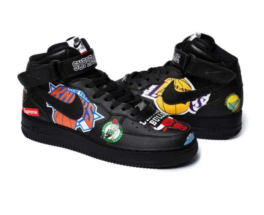 Supreme X Nike X NBA Shoes  0b39cf9c0