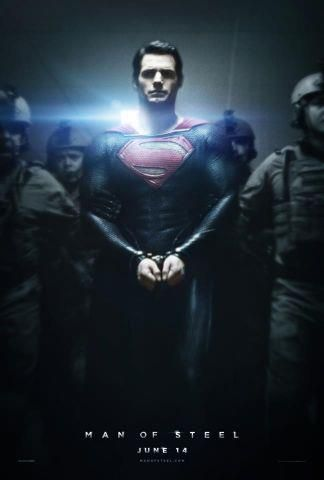 Nuevo póster de Man Of Steel #EvenproCines