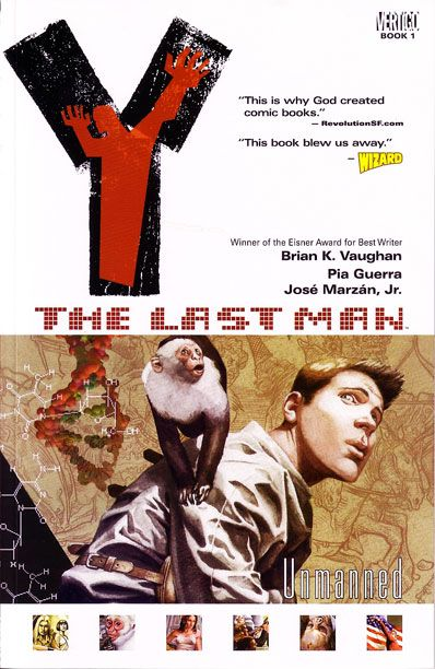 Adapt This for TV: Brian K. Vaughan's 'Y: The Last Man' | EW.com