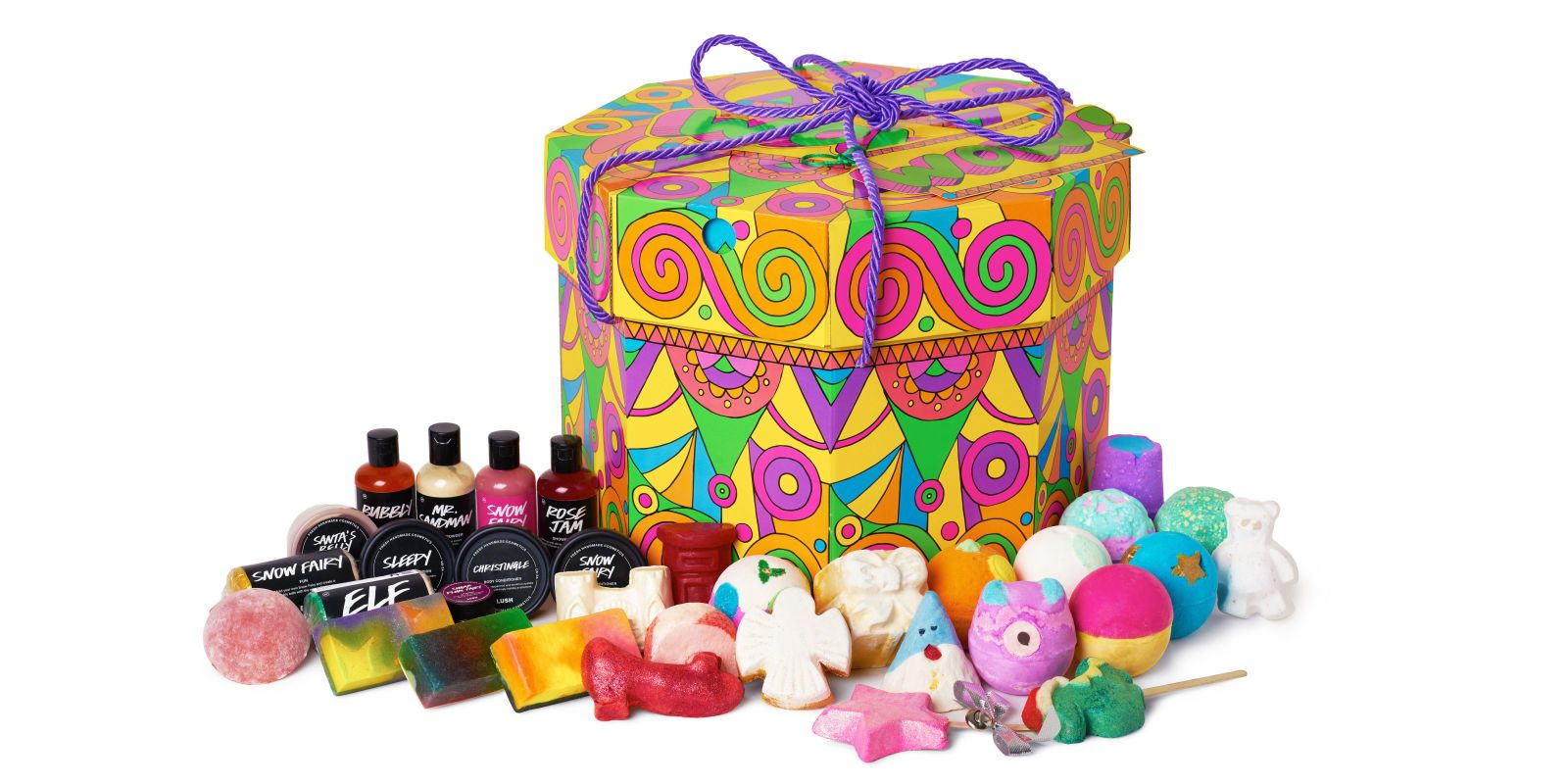 The Ultra Chic Guide To Bridal Shower Gifting Lush Christmas Gifts Lush Gift Set Lush Gift