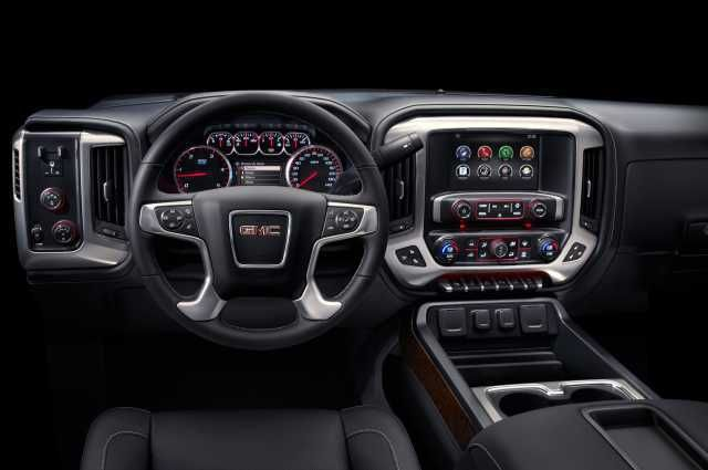 2016 Gmc Sierra 2500 Interior Cars Pictures Camionetas Autos