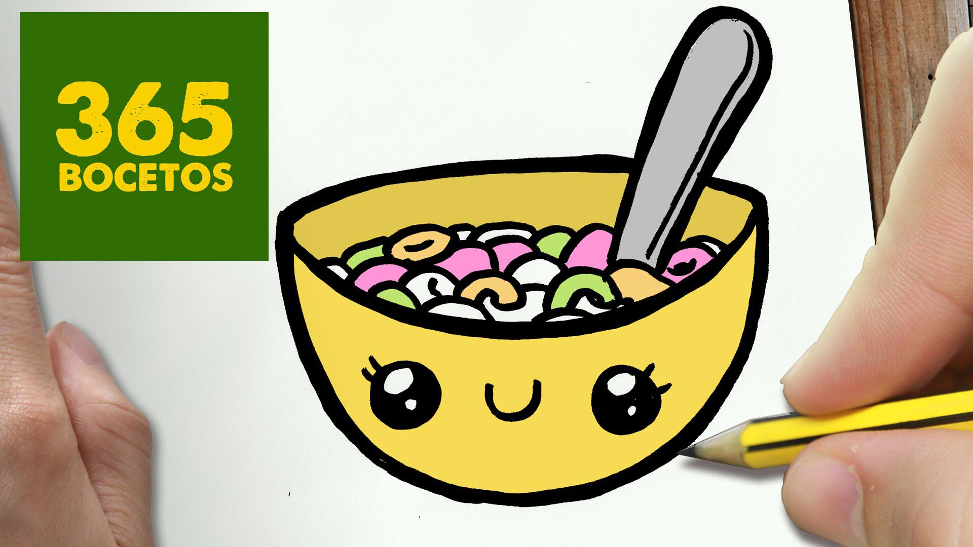 Cereal Dibujos Kawaii Faciles