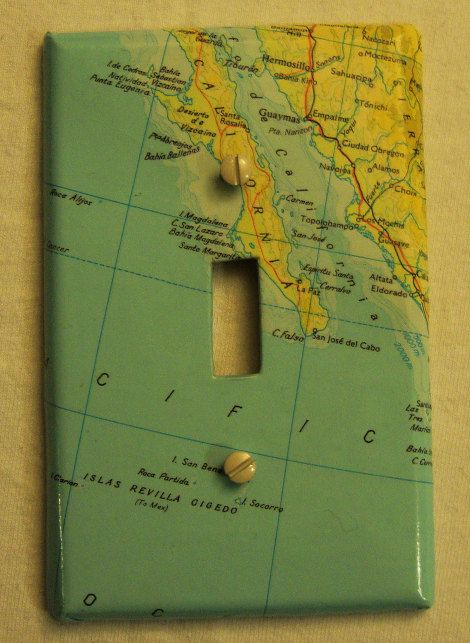 Cover A Switch Plate Reduce Reuse Repurpose Upcycle Pinterest