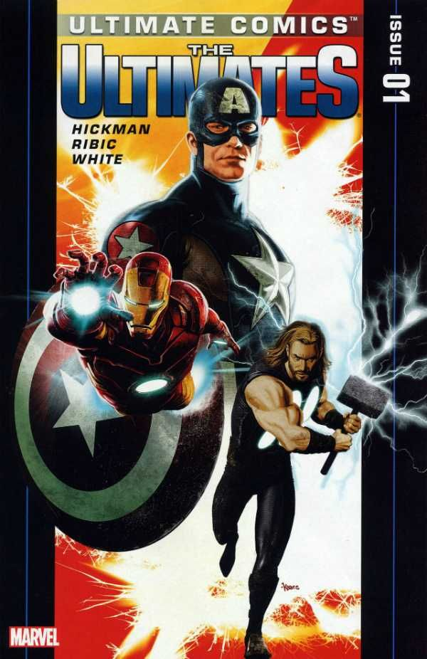 Ultimate Comics Ultimates 1 By Kaare Andrews Herois