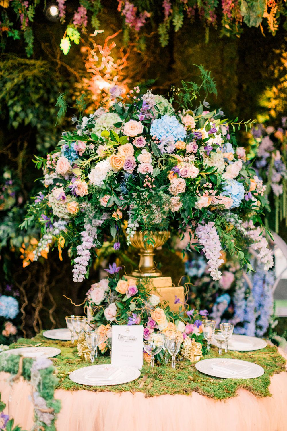 Enchanted Garden Wedding Theme Floral Inspiration - with Amie Bone ...