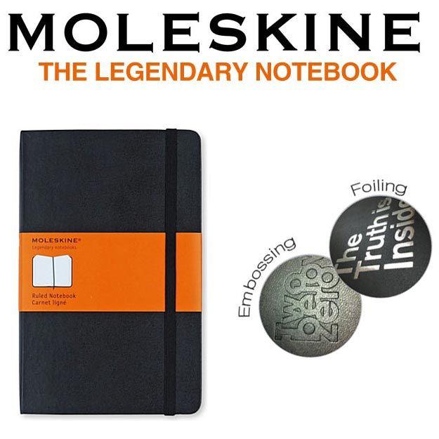 Moleskine Branded Notebooks