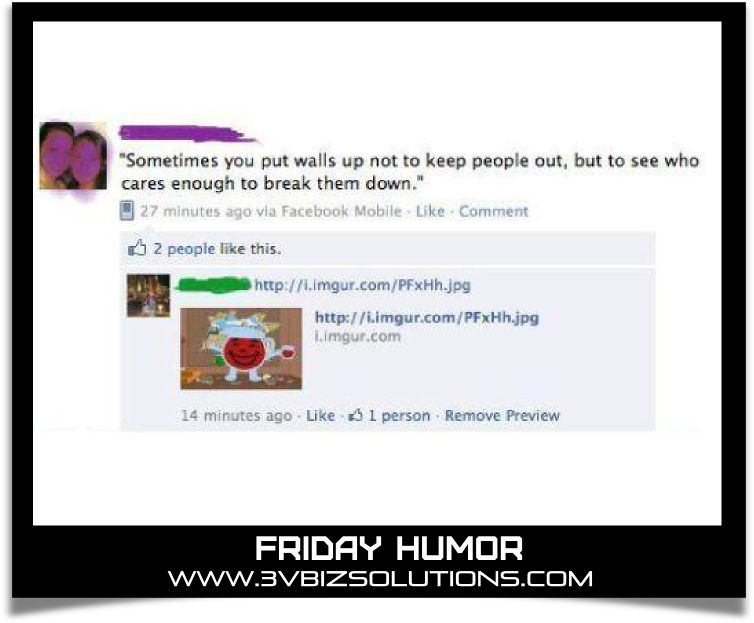 Friday Humor Funny Facebook Comments