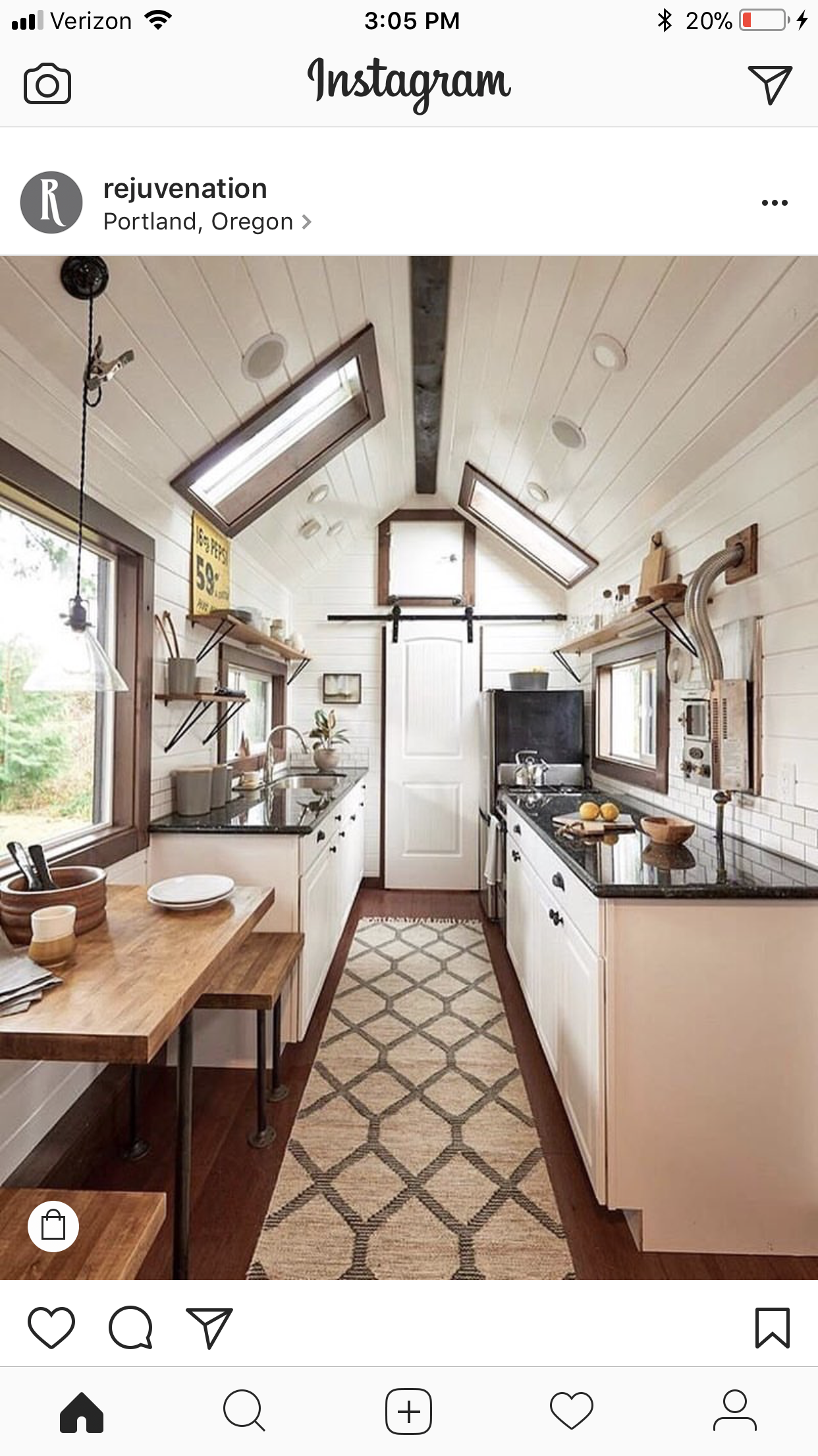 Pin By Liga Mullins On Kitchen Dining Room Remodel Tiny House