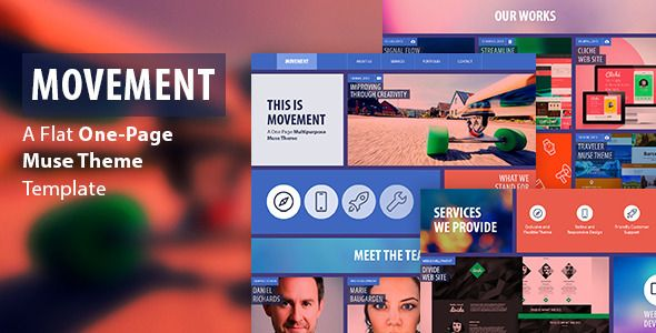 Shopping Movement - One Page Muse Themetoday price drop and special promotion. Get The best buy