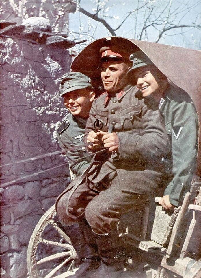Mountain Buggy Ebay Bulgarian Soldier Gives A Lift To German Mountain Troopers