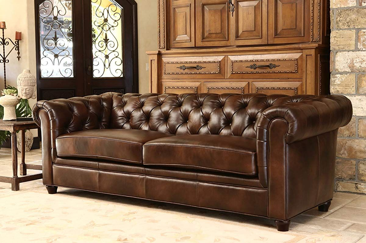 Italian Leather Sofa Brown Tufted Leather Sofa Italian Leather Sofa Brown Leather Sofa