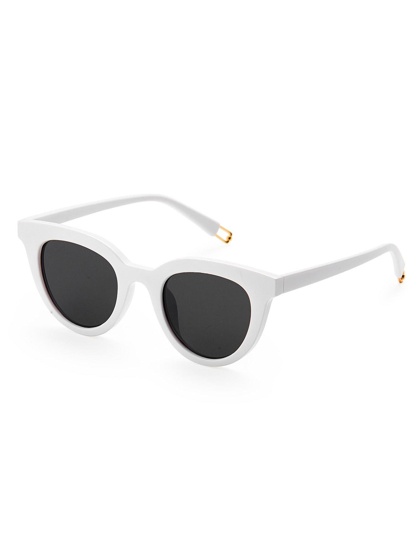 21a383b89f Flat Lens Cat Eye Sunglasses -SheIn(Sheinside) | Glasses and Sunnies ...