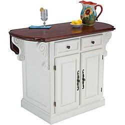 Overstock this traditions kitchen island is constructed of hardwood solids and engineered - Overstock kitchen islands ...