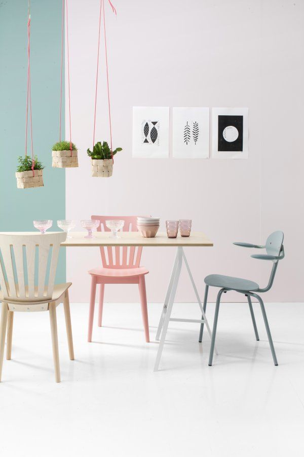 Deco salle a manger pastel 2 magazines gardens and pastels for Salle a manger quartz