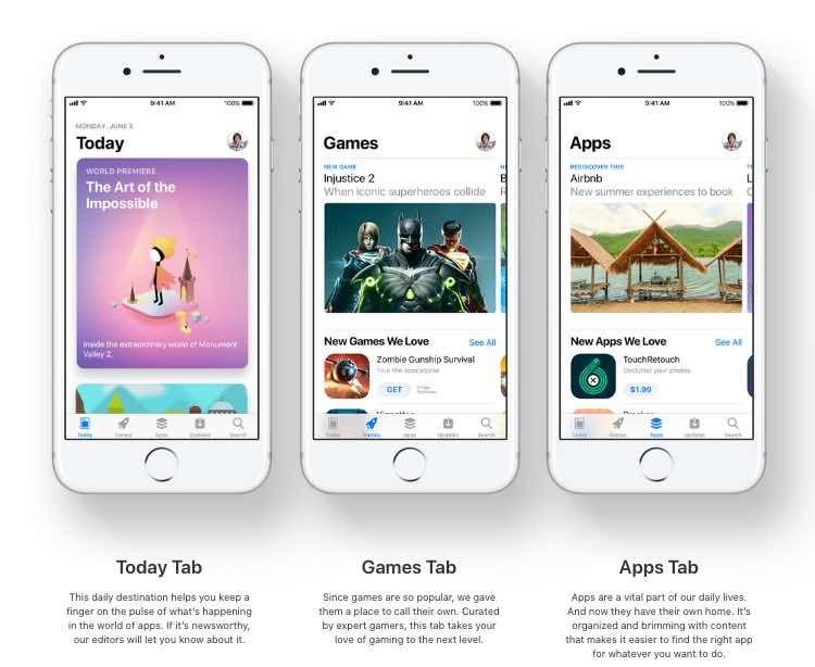 WWDC17 Apple presenta una App Store renovada Desarrollo