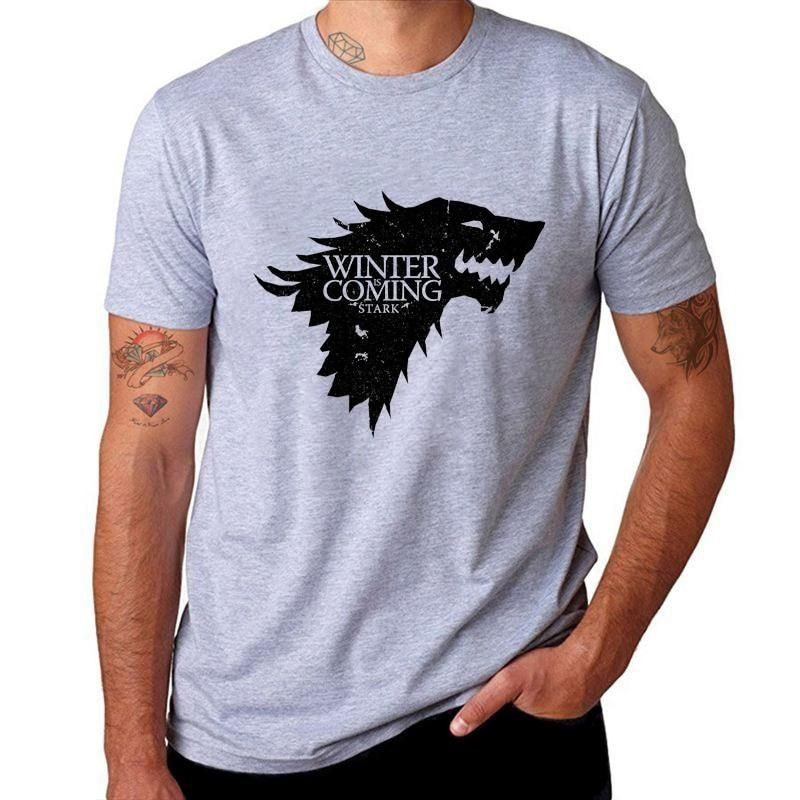 Game of Thrones Winter is Coming T-Shirt Homme