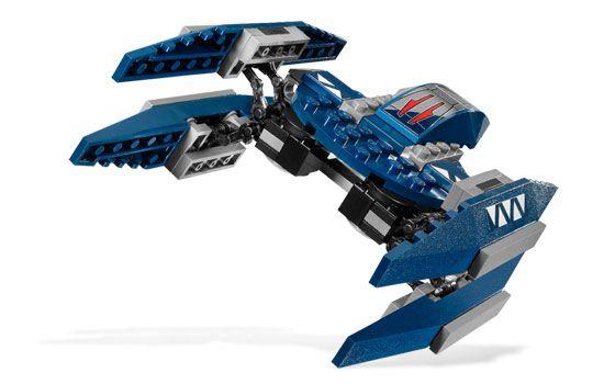 LEGO 7751 AHSOKAS STARFIGHTER AND VULTURE DROID