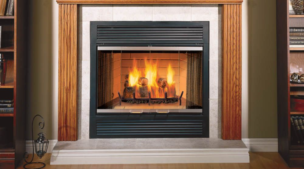 Sovereign Wood Burning Fireplaces By Majestic Products Majestic Fireplace Wood Burning Fireplace Wood Fireplace