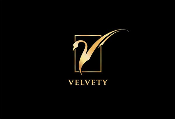 """A China based wine company was looking for a new logo and branding ideas. Since they directly market to Chinese consumers, we decided to use a swan as the main motif because the direct translation of the word """"Velvety"""" into Chinese literally means """"swan f…"""