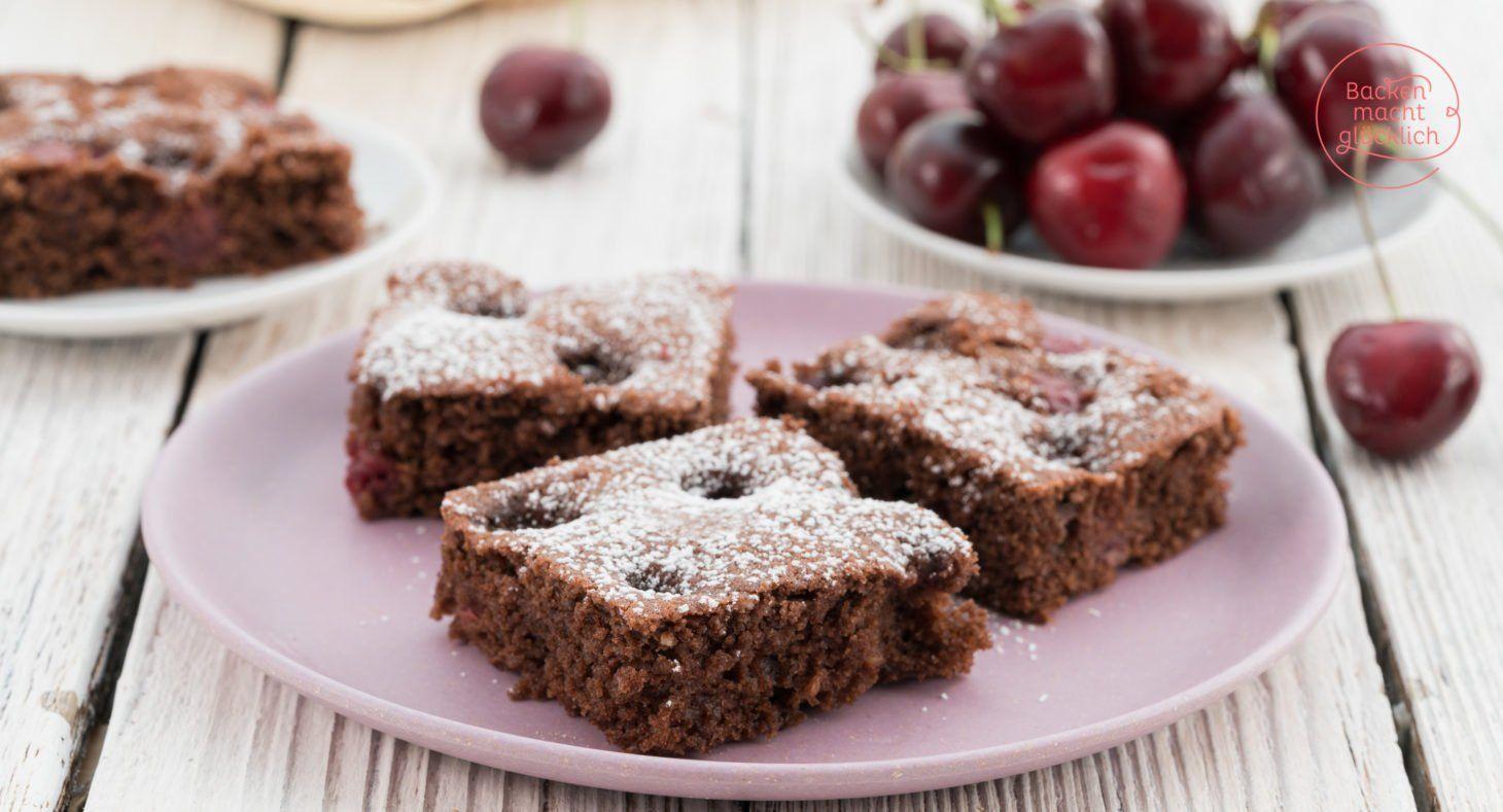 Saftiger Schoko Kirsch Kuchen Rezept Schoko Kirsch Kuchen Saftiger Schoko Kirsch Kuchen Und Kuchen Ohne Backen