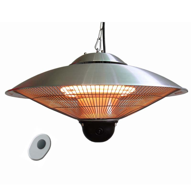 Hanging Ceiling Mounted Infrared Heater Waterproof Heating Lamps Garden Dinning Room Hall Outdoors Patio Heater Remote Cont Ceiling Ceiling Lights Patio Heater
