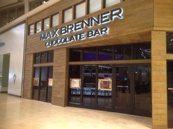 Max Brenner Chocolate Bar In Paramus Nj At Garden State Plaza Mall