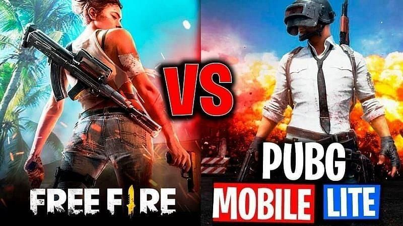 Pubg Mobile Lite And Free Fire Have Often Been Compared With Each Other To Establish Which Game Is Better Gaming Wallpapers Fire Ninja Wallpaper Wallpaper free fire vs pubg