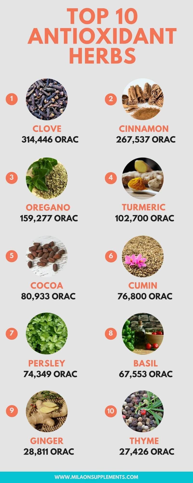 10 Recipes Rich in Antioxidants