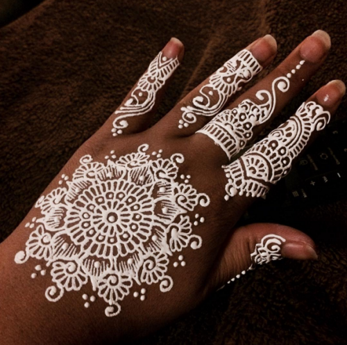 Fall Henna Designs: 25 Reasons To Fall In Love With White Henna Tattoos