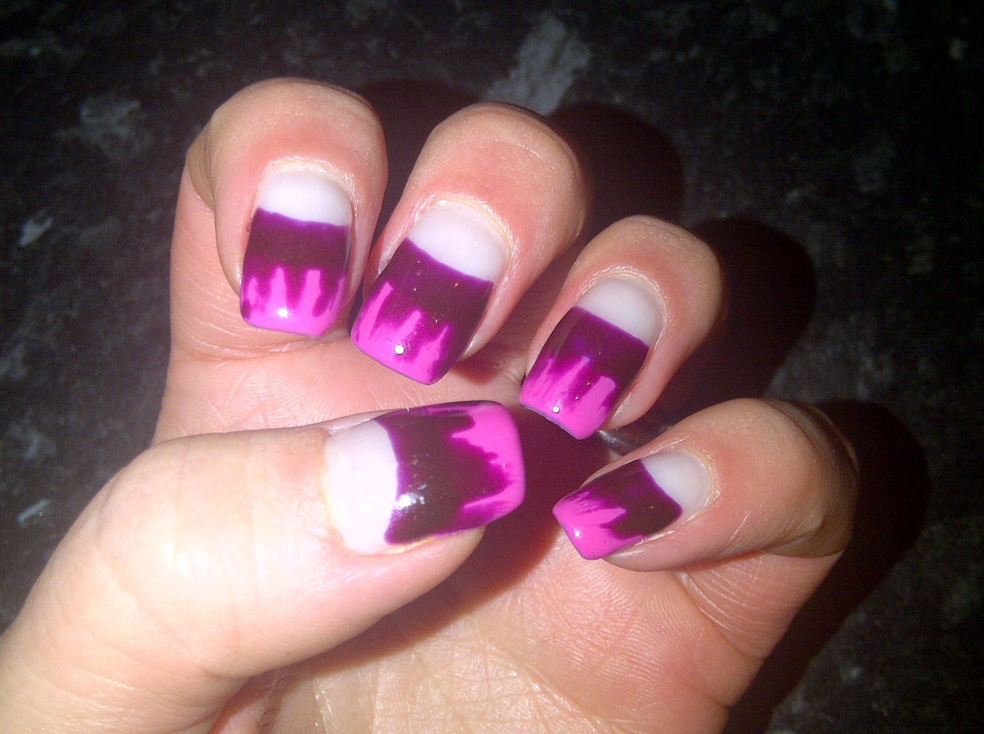 dripping pink for Halloween