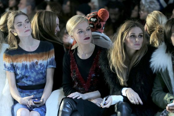 Olivia Palermo Photos - Dennis Basso - Backstage - Fall 2016 New York Fashion Week: The Shows - Zimbio