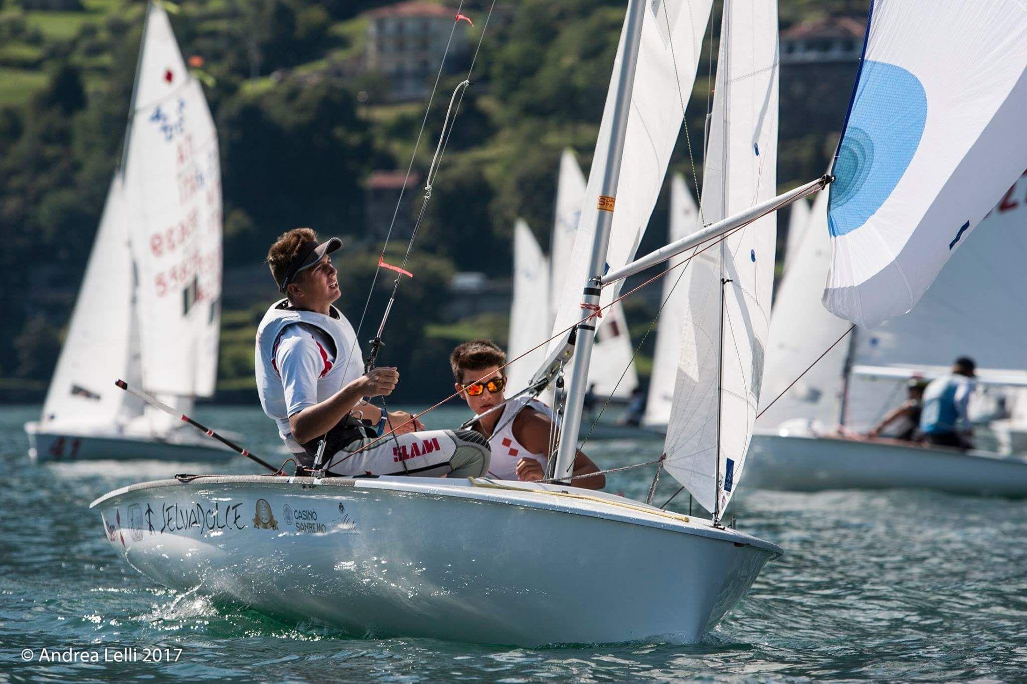 aa2f188a5900 Cilli Mantero #CilliMantero #classe420 #420class #sailing ...