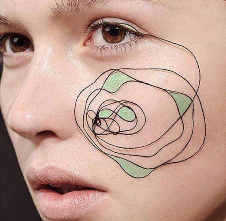 19++ Tatouage grain de beaute visage ideas in 2021