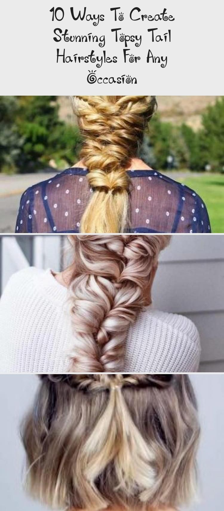 10 ways to create stunning topsy tail hairstyles for any