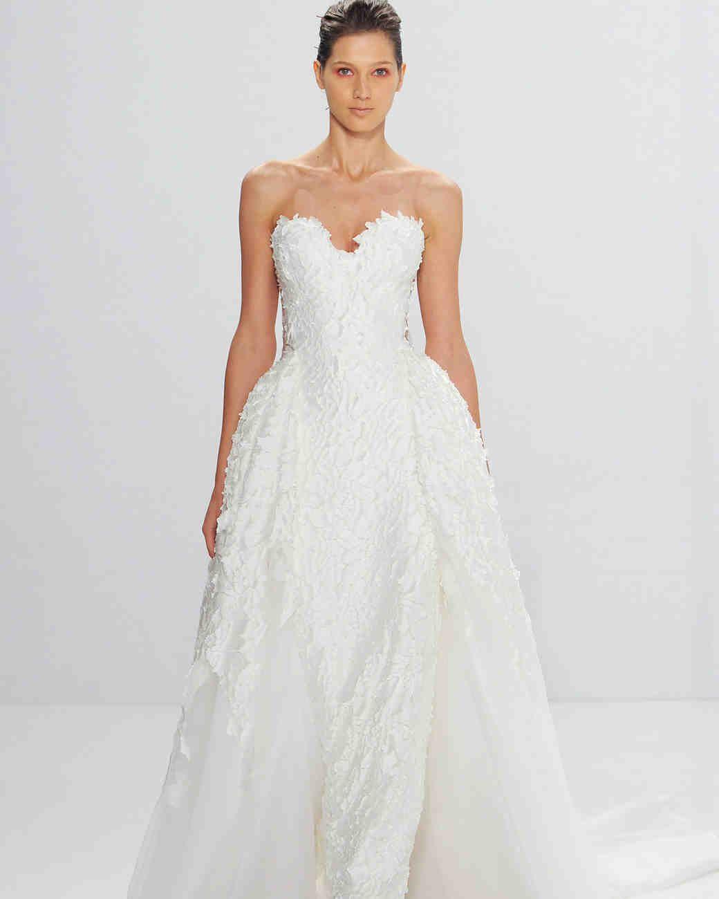 Lisa robertson in wedding dress - Bridal Fashion Week