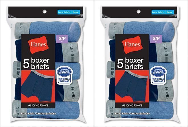 Details about 10 Pairs Hanes Boys' Boxer Brief Underwear Size S-XL ...