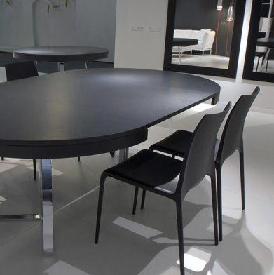 Ligne Roset Ava Table Fully Extended Dining Table Extendable