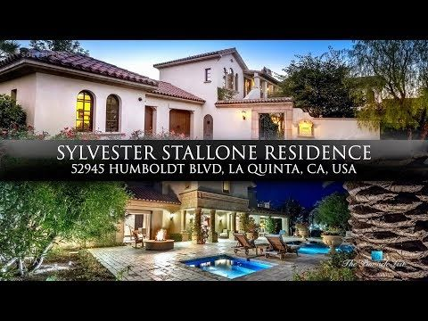 Sylvester Stallone Residence 52945 Humboldt Blvd La