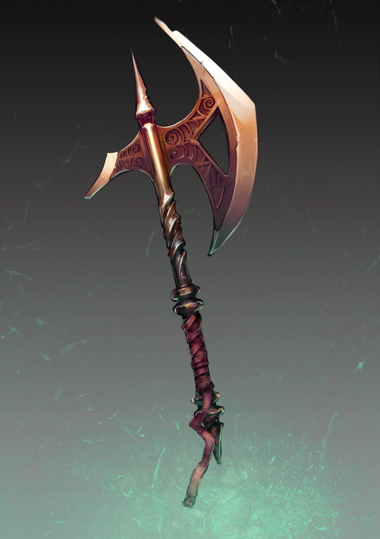 Light axe by skilrex deviantart com on deviantart