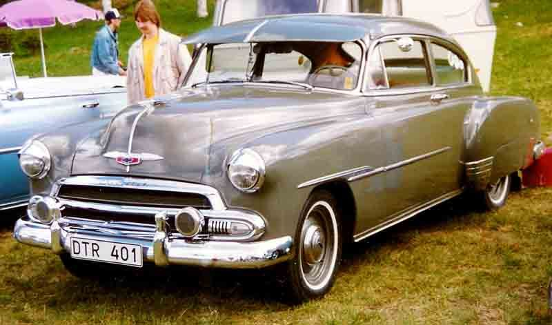 1951Chevy fastback.